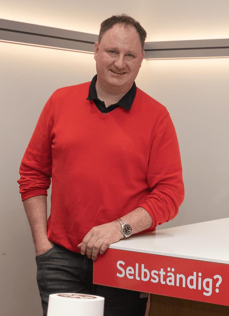 Michael Stotter - Vodafone Shop Murnau - Foto Stoess