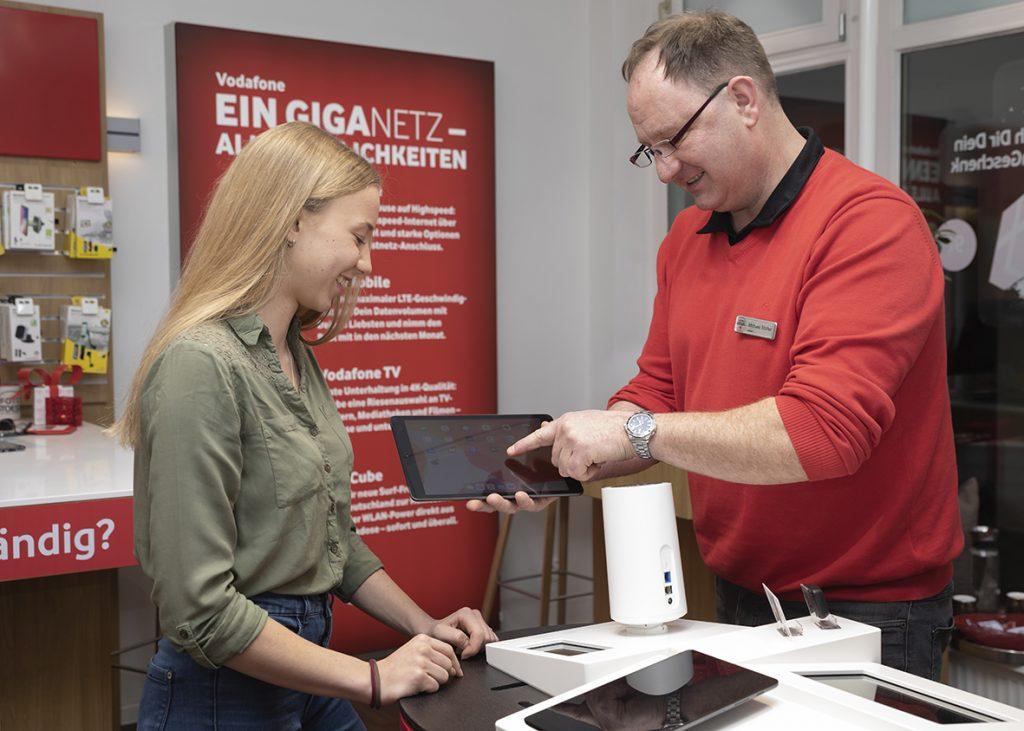 Service - Beratung Vodafone Shop Murnau - Foto Stoess